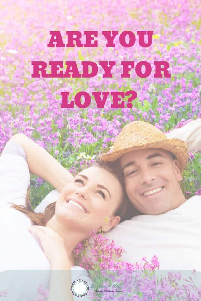"When I say, ""ready for love,"" what do I mean? What I want to ask is if you are ready to receive the love you crave. Do you think you are worthy of the love you dream of? Do you love yourself and are you ready to give that love back to your partner? Don't fret if you are not. You can work on it. Read more #love #dating #relationships"