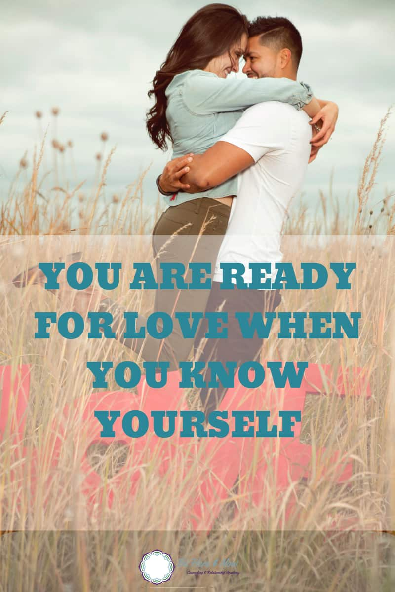 We are raised to be people pleasers and be attuned to others' emotions and needs. How can you find the right partner when you don't understand yourself? Doing some self-exploration can help you be ready to receive the love you crave. #love #dating #relationships