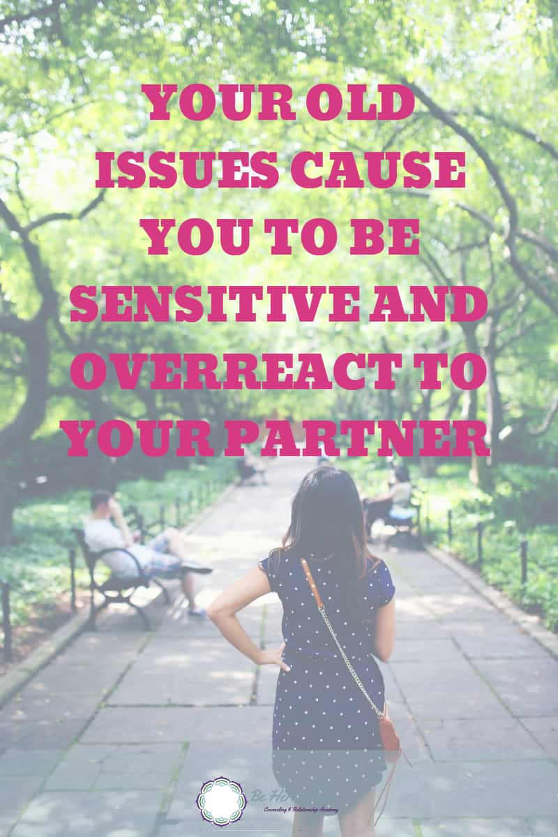 When you have some emotional wounds from childhood or past relationship, it's most likely that they will come up in your current relationship. The problem is that we are usually not aware of these old issues. #relationshipadvice #love #dating