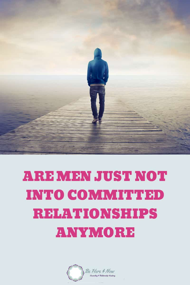 Are men not interested in a happy relationship